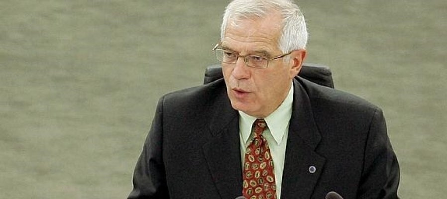 El exministro Josep Borrell