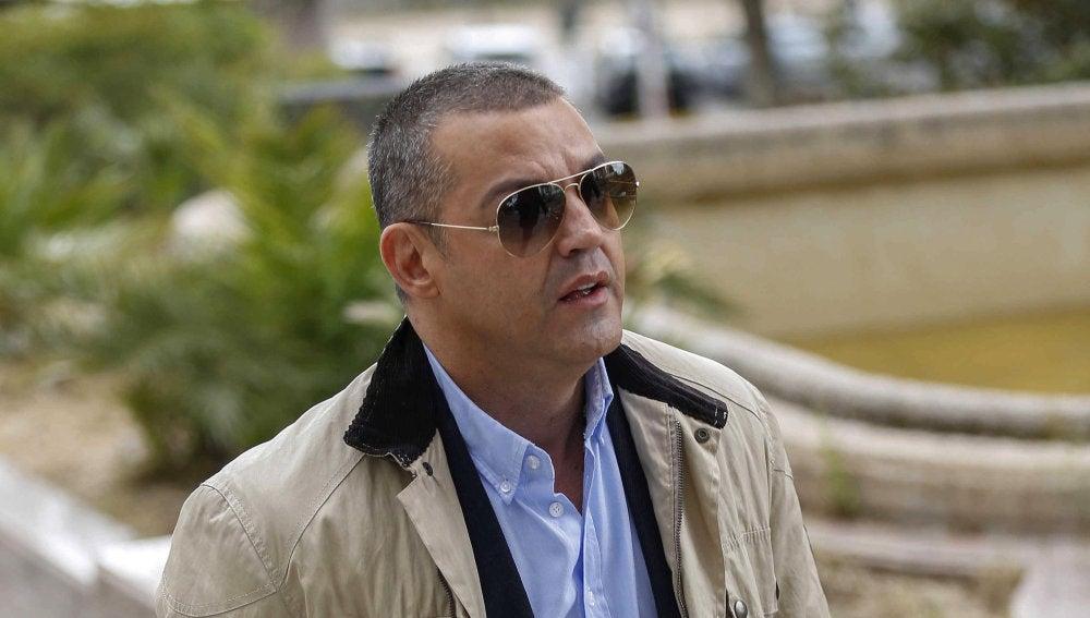 Miguel Ángel Flores a su llegada