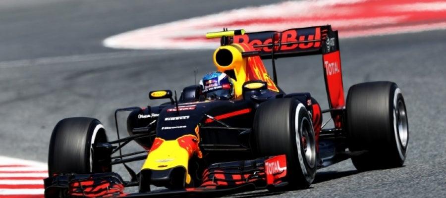 Verstappen, durante el GP de España