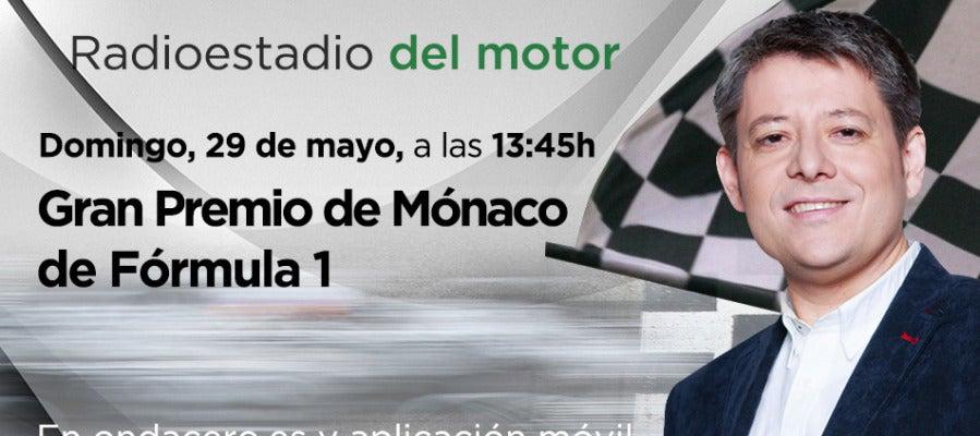 GP de Mónaco en Radioestadio del motor
