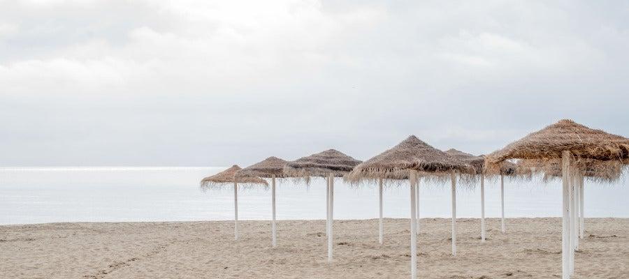 Una playa española
