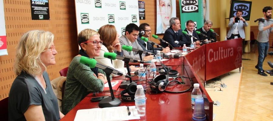 Taula de debat amb els representants municipals