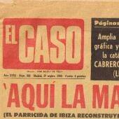Un ejemplar del semanario 'El Caso'