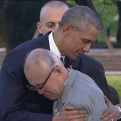 "Frame 9.953313 de: Obama: ""La bomba atómica de Hiroshima cambió el mundo"""