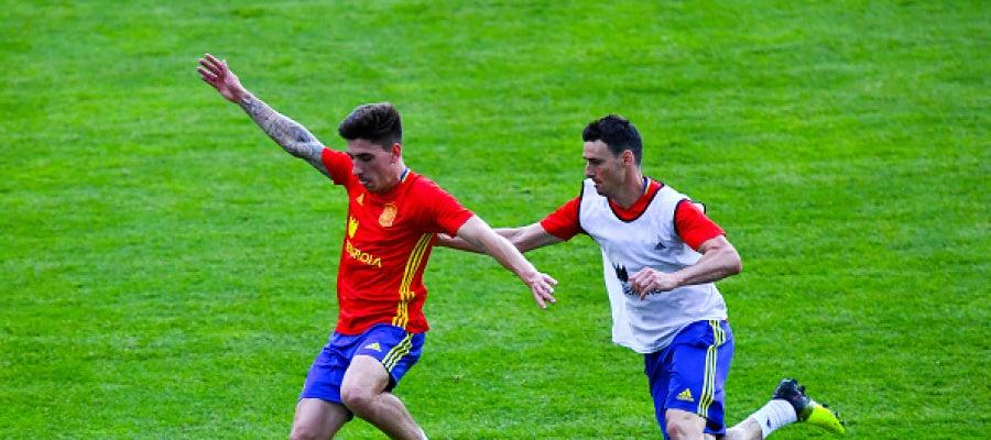 Héctor Bellerín debuta con la selección española