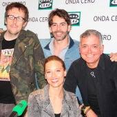 Miguel Ángel Lamata, Eduardo Noriega, Michelle Jenner y Juan Ramón Lucas