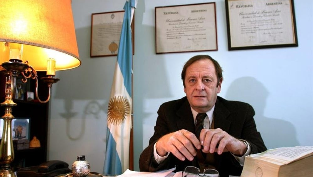 Foto de archivo del juez federal Rodolfo Canicoba Corral