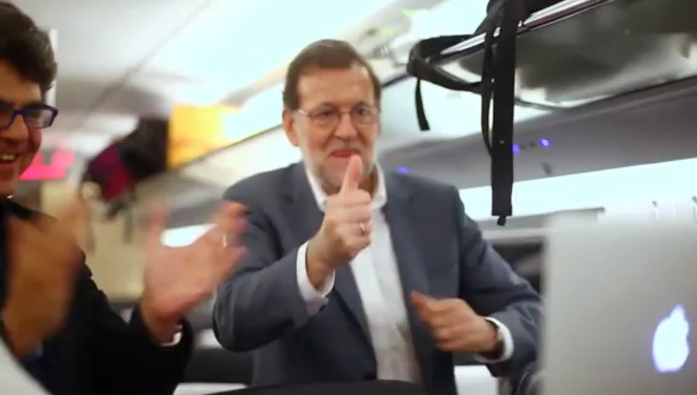 Rajoy celebra el último punto de Garbiñe Muguruza