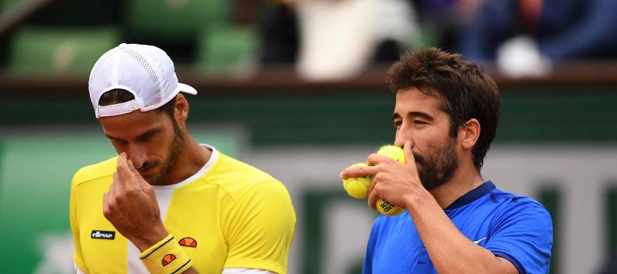 Feliciano López y Marc López, campeones de Roland Garros en dobles