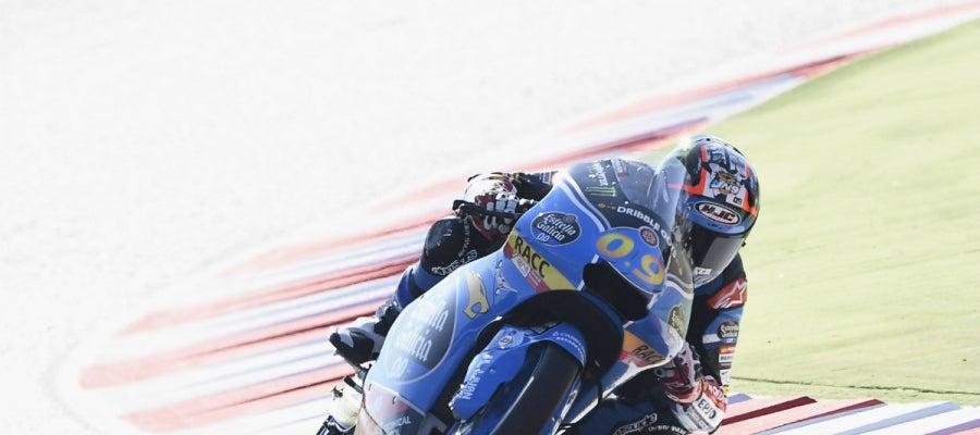 Jorge Navarro, en Moto3