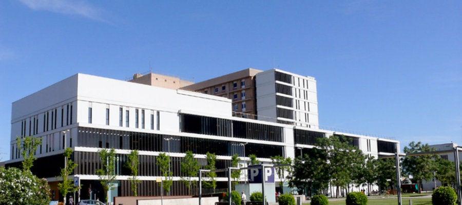 Hospital Parc Taulí de Sabadell donde fue ingresado el bebé