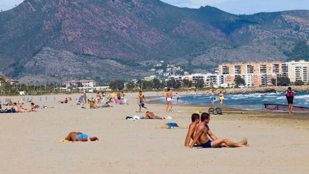 Castellon playa del Gurugú