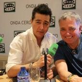Juan Valderrama y Juan Ramón Lucas