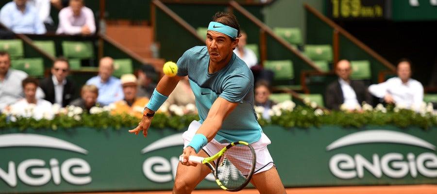 Rafael Nadal en el Roland Garros 2016