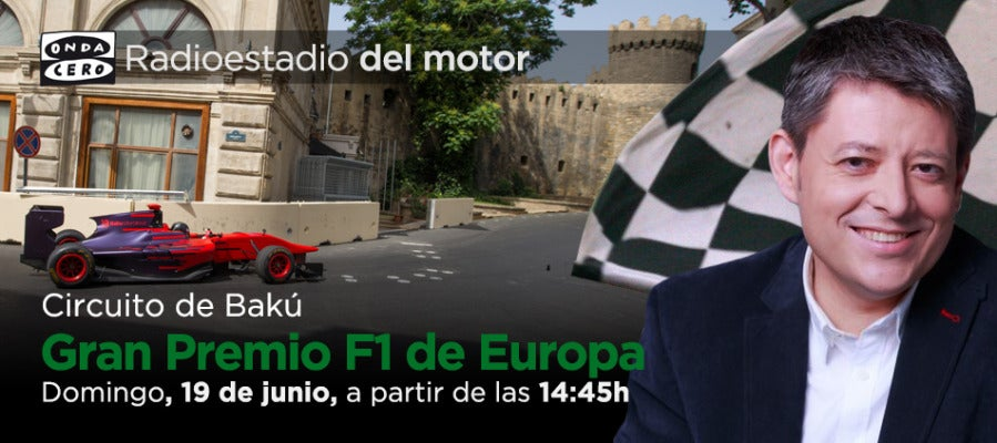 Gran Premio de Europa de F1 en Radioestadio