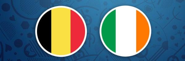 Bélgica - Irlanda