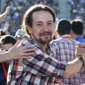 Pablo Iglesias en Baleares