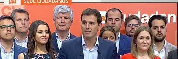 """Albert Rivera: """"La próxima vez hay que votar con una ley en la que todos los españoles seamos iguales"""""""