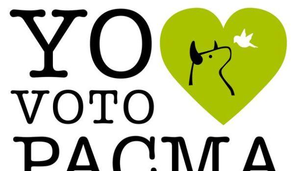Logo del partido animalista Pacma