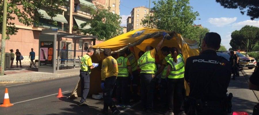 Herido muy grave un joven tras ser atropellado en Ciudad Lineal (Madrid)