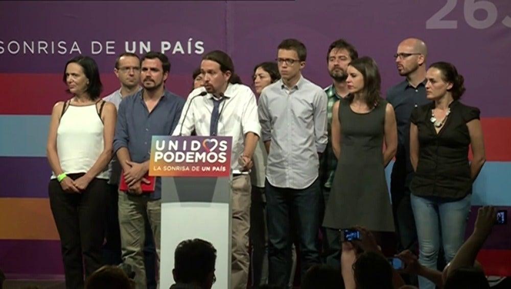 Frame 54.92292 de: ¿Qué falló en Unidos Podemos para perder más de un millón de votos en 6 meses?