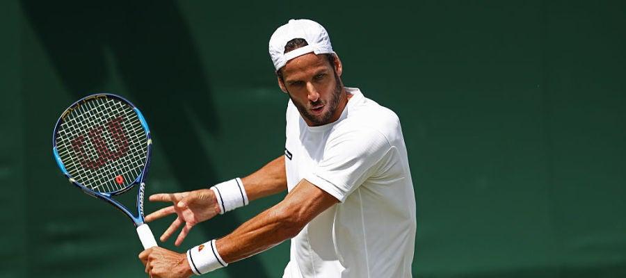 Feliciano López en Wimbledon