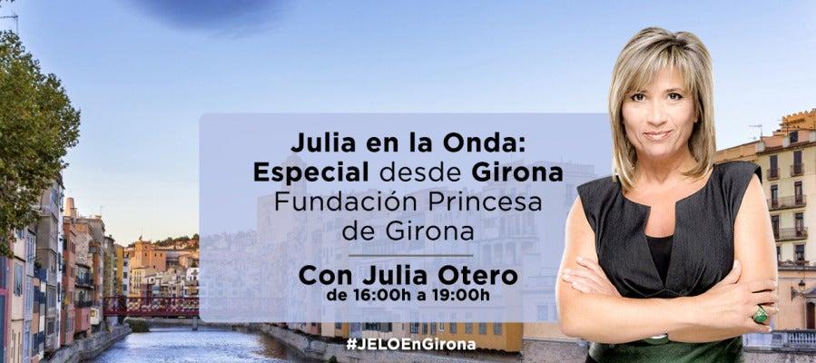 Julia en la onda desde la Fundación Princesa de Girona
