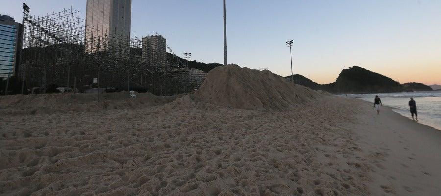 La sede de voley playa de los Juegos Olímpicos de Río