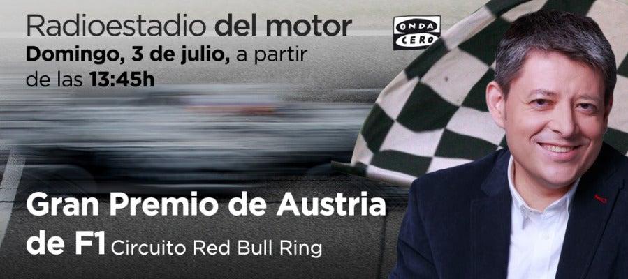 GP de Austria de F1 en Radioestadio del motor
