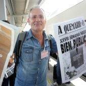 Ángel de la Calle, director de la Semana Negra