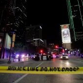 La polícia corta las calles de Dallas