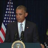 """Frame 22.072792 de: Obama criticó la violencia policial contra afroamericanos horas antes del tiroteo en Dallas: """"Hay desigualdades raciales en nuestro sistema"""""""