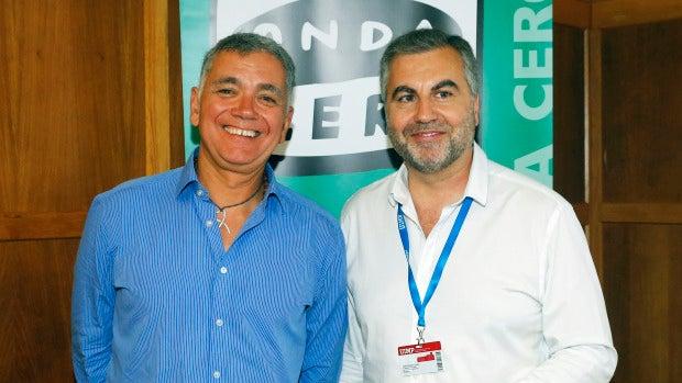 Juan Ramón Lucas y Carlos Alsina