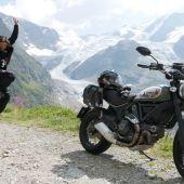 Alicia Sornosa es la primera mujer española que ha dado la vuelta al mundo en moto