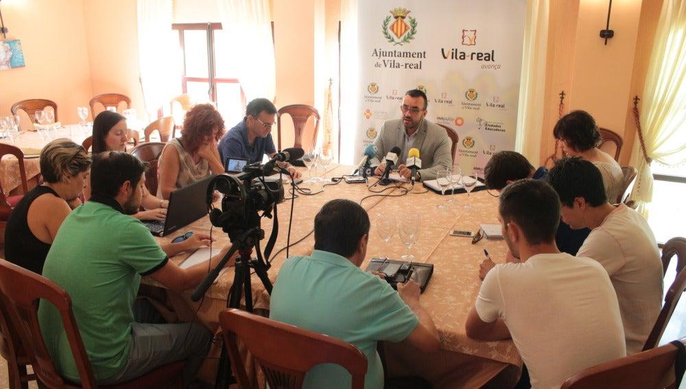 Roda de premsa de José Benlloch