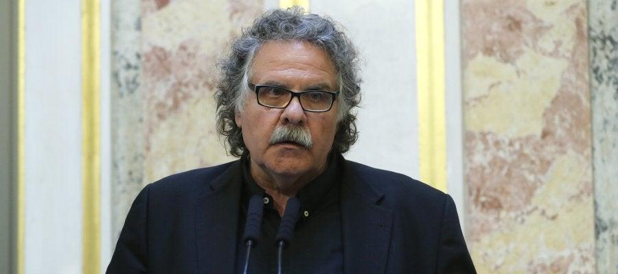 El portavoz de ERC en el Congreso, Joan Tardá