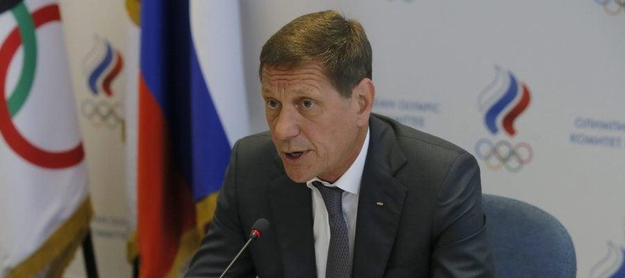 El presidente del Comité Olímpico ruso