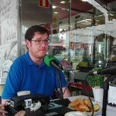 Alcalde de A Illa de Arousa, Carlos Iglesias.