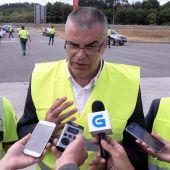 El delegado del Gobierno en Galicia, Santiago Villanueva