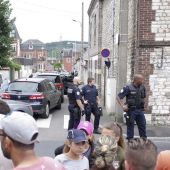 Agentes de Policía en Normandía