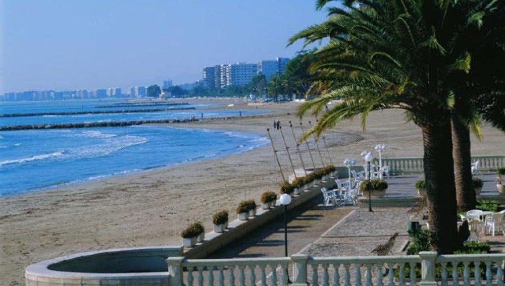 Playa Voramar, Benicàssim.