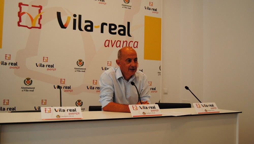 El regidor de Serveis Públics, Francisco Valverde.
