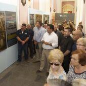"""Javier Moliner en la inauguración de la exposición """"Llum de la memòria"""""""
