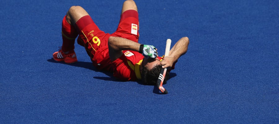 Miguel Delas, desolado tras caer eliminado en Río 2016