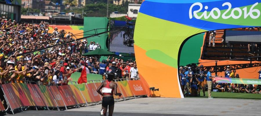 Maratón olímpico en Río 2016
