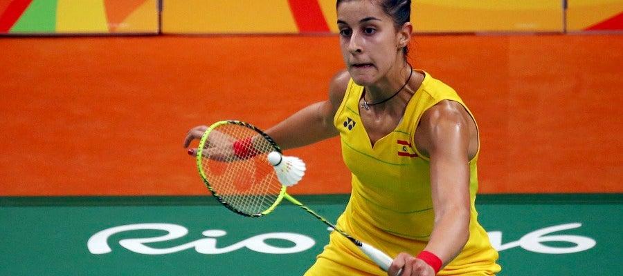 Carolina Marín, en los Juegos de Río