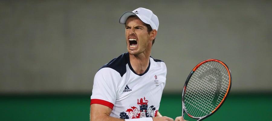 Andy Murray celebra la victoria en Río 2016