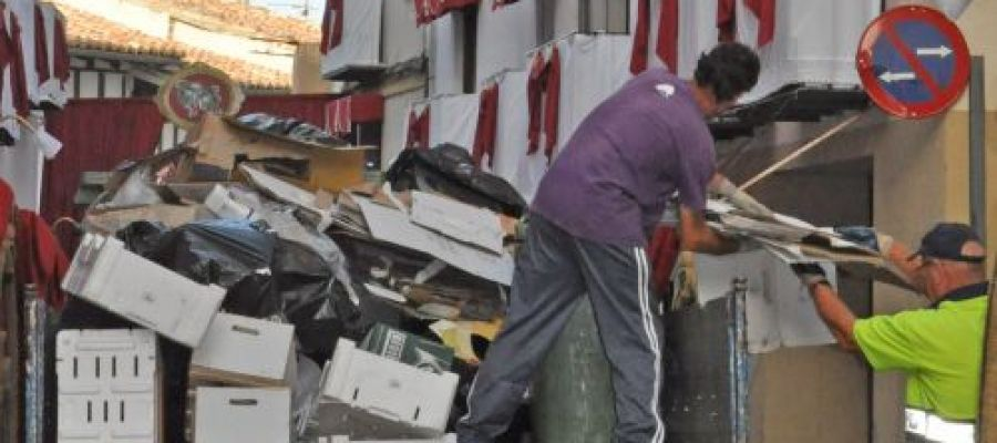 Servicio Especial de Recogida Residuos
