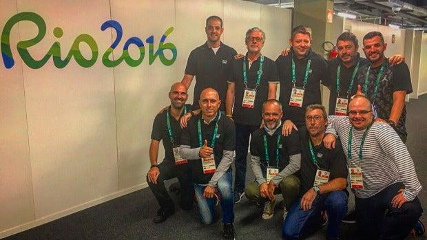 Equipo de enviados especiales de Onda Cero a los Juegos Olímpicos de Brasil