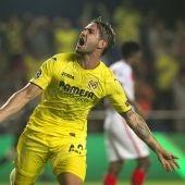 Alexandre Pato celebra su gol ante el Mónaco